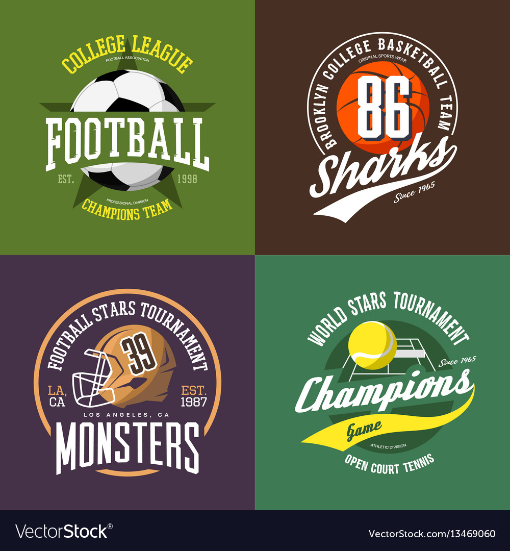 Soccer and volleyball basketball ball and rugby vector image