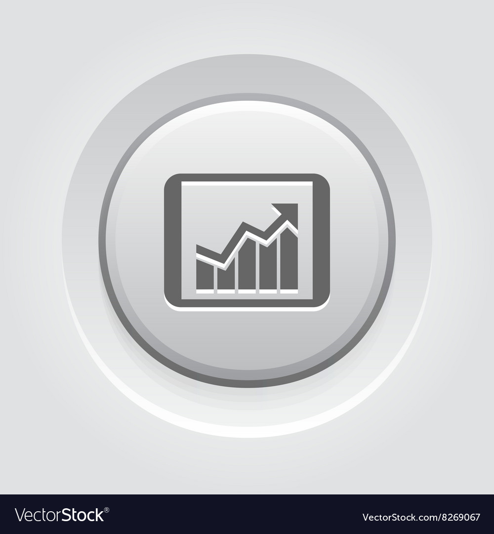 Business Chart on Table vector image