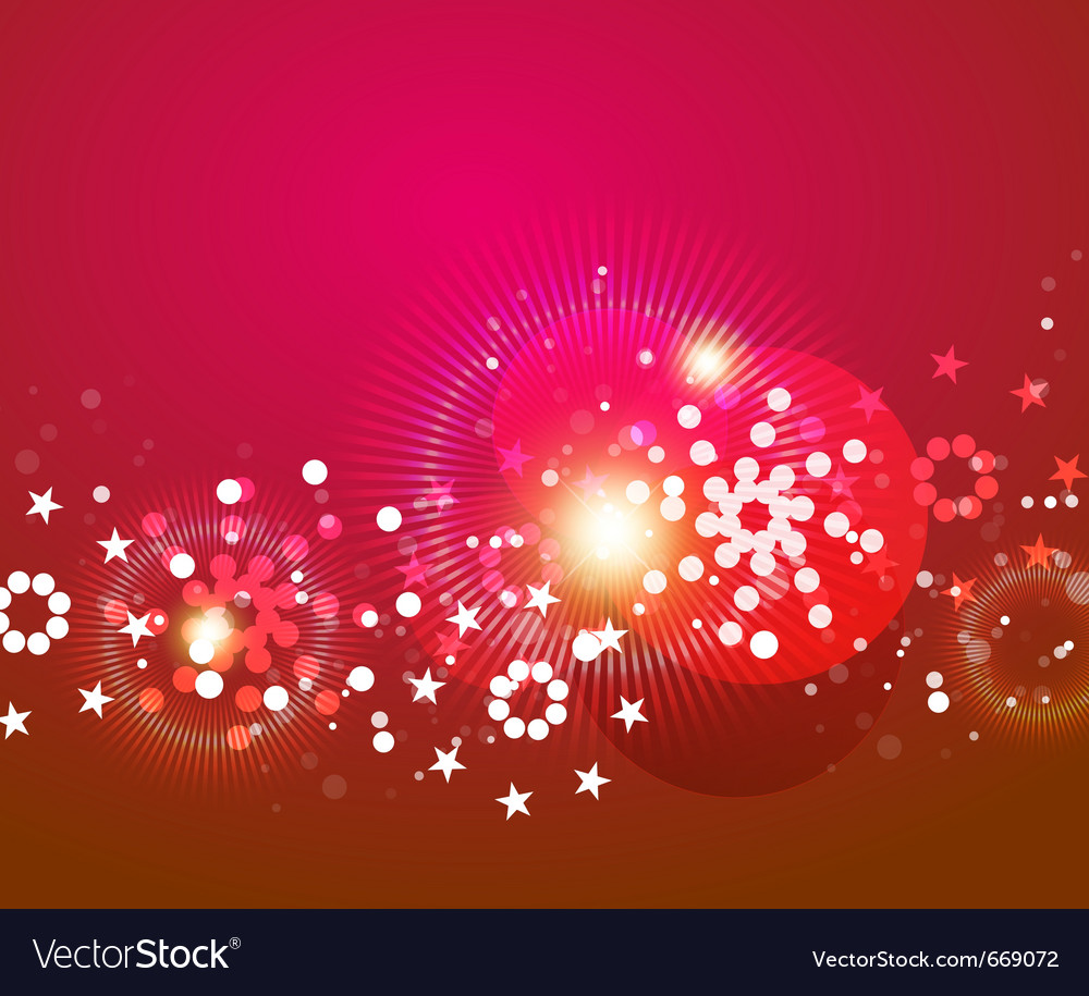 Shiny christmas abstract background vector image