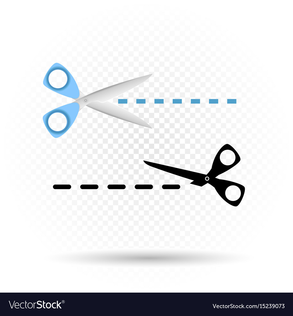 Scissors line cut symbol royalty free vector image scissors line cut symbol vector image biocorpaavc