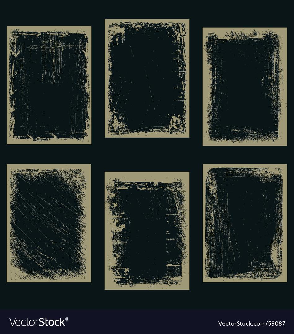 Frames ii vector image