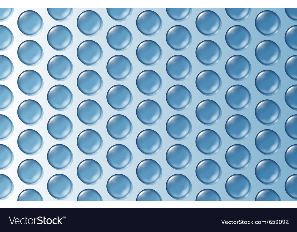 Bubble wrap texture vector image