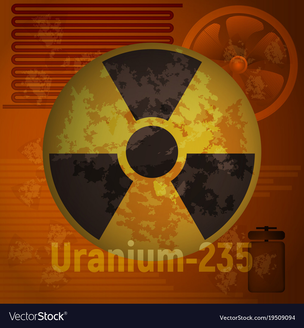 Sign of radiation uranium 235 royalty free vector image sign of radiation uranium 235 vector image buycottarizona