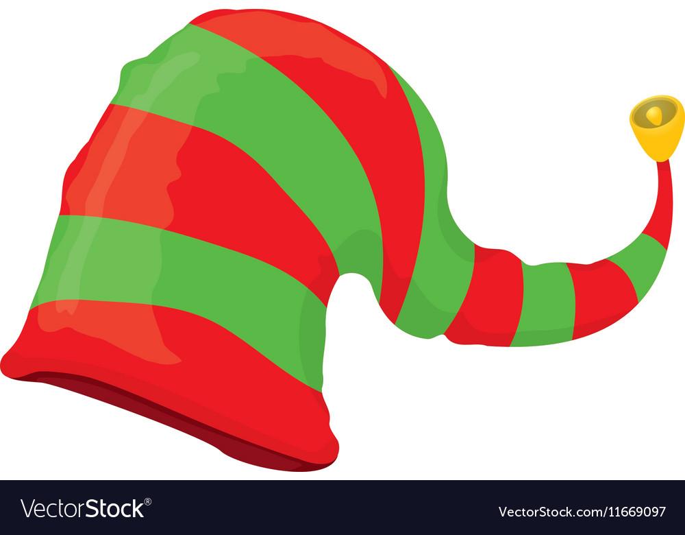 Christmas Elf Hat Royalty Free Vector Image