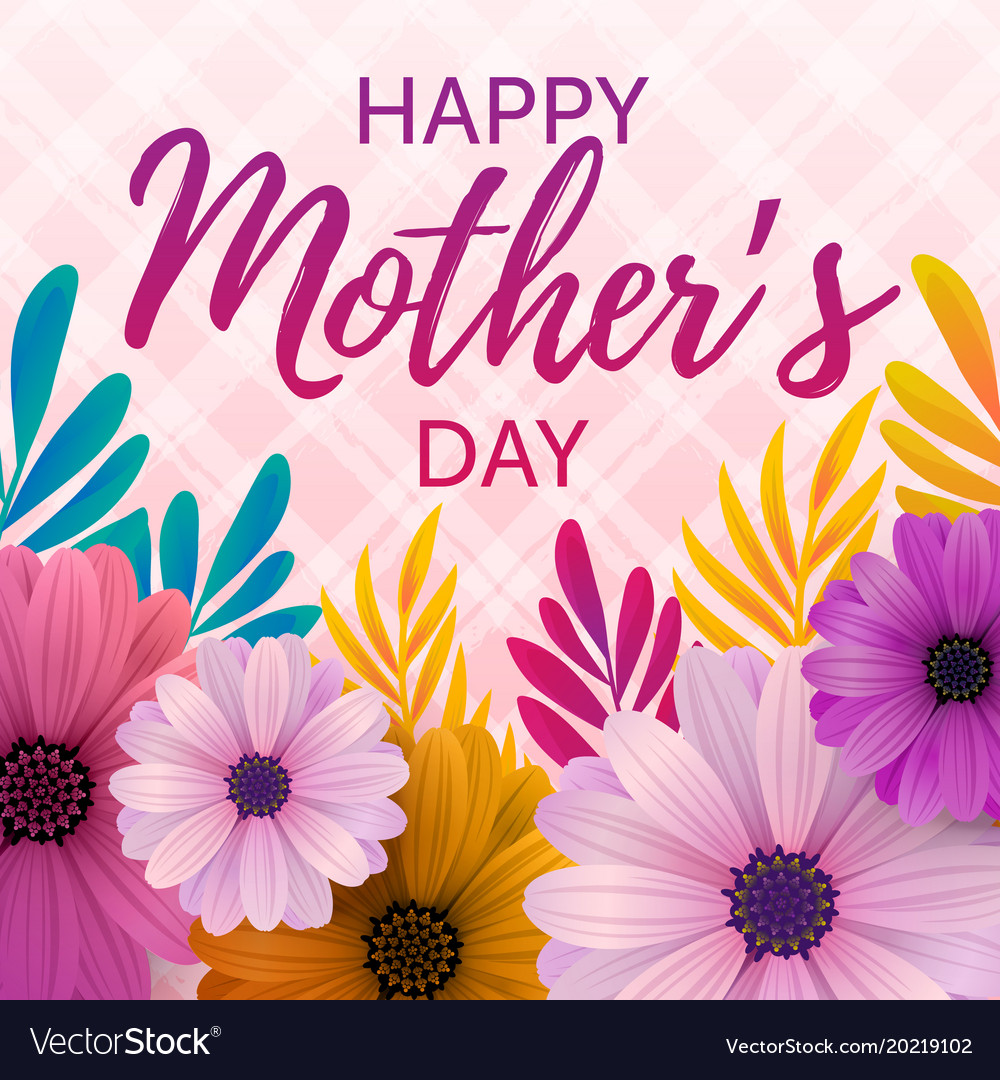 Happy mothers day card royalty free vector image happy mothers day card vector image kristyandbryce Image collections