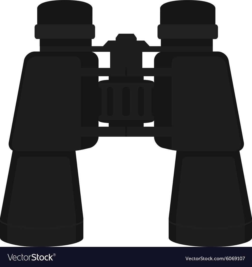 Binoculars icon Color No outline vector image