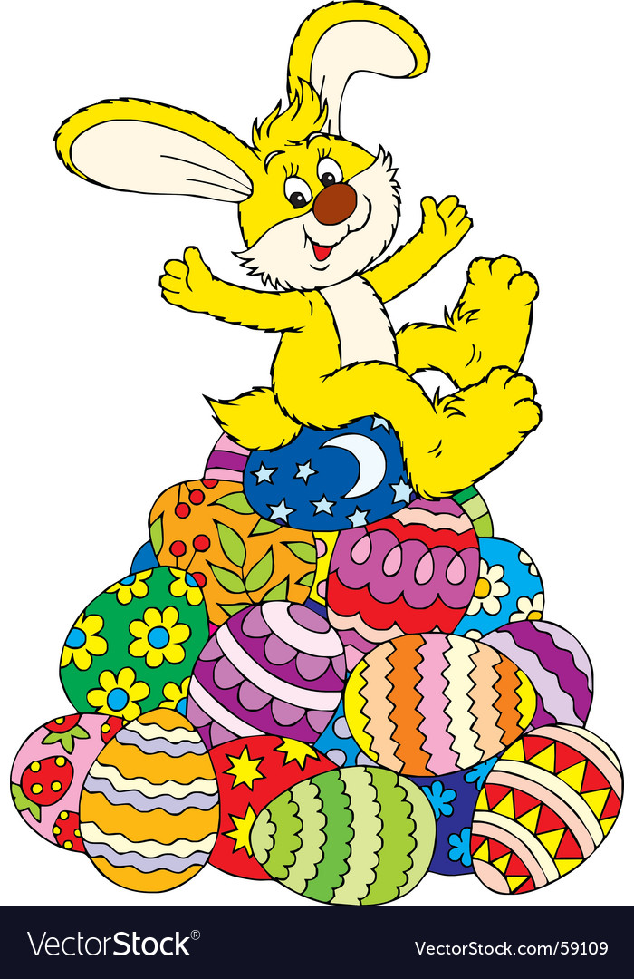 easter bunny cartoon drawing. +easter+unny+cartoon