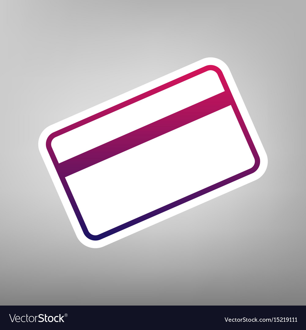Credit card symbol for download purple royalty free vector credit card symbol for download purple vector image biocorpaavc