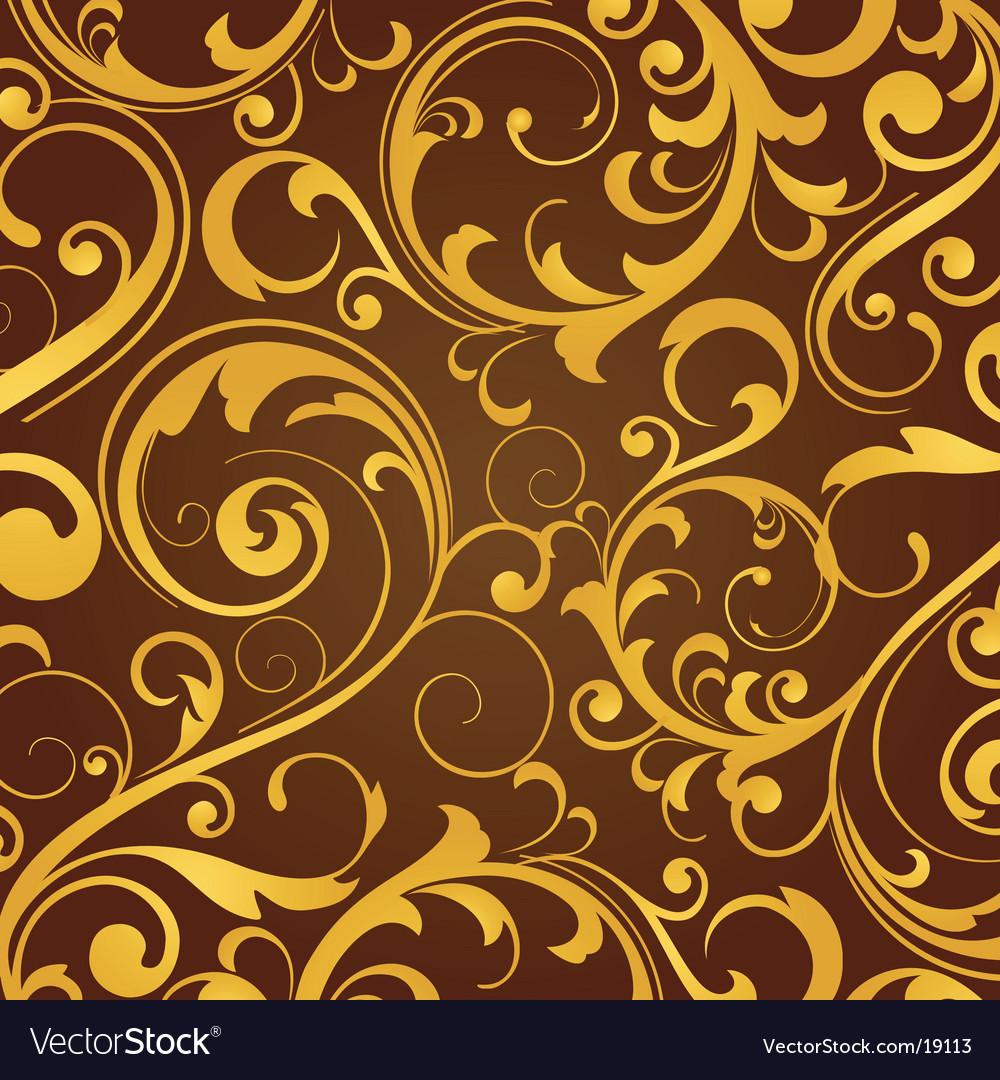 Wallpaper design vector image