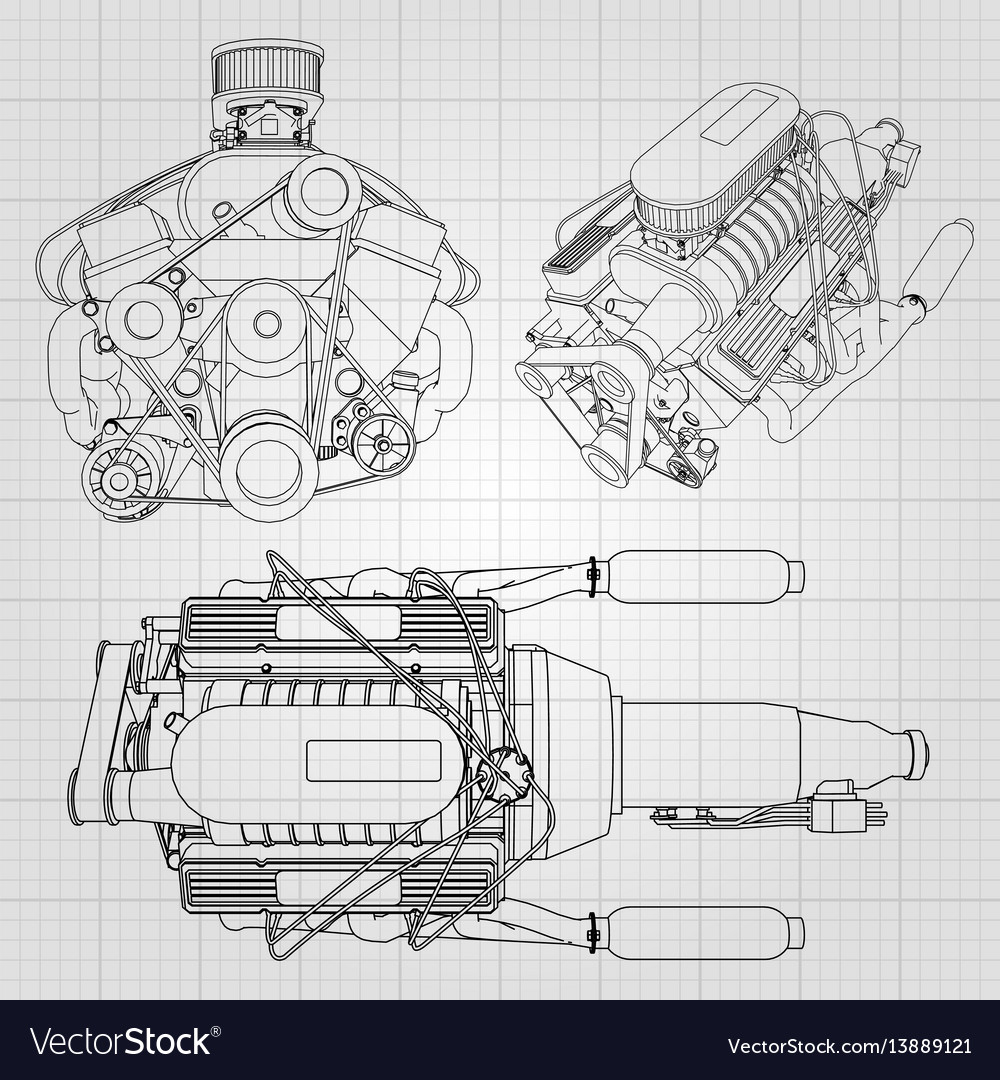Fancy Simple Car Engine Diagram Component - Everything You Need to ...