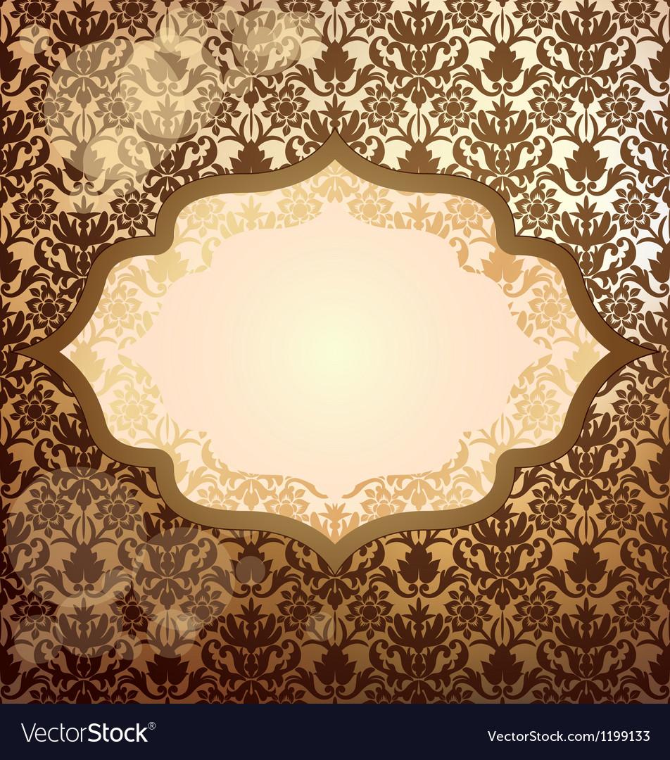 Luxury golden invitation royalty free vector image luxury golden invitation vector image stopboris Gallery