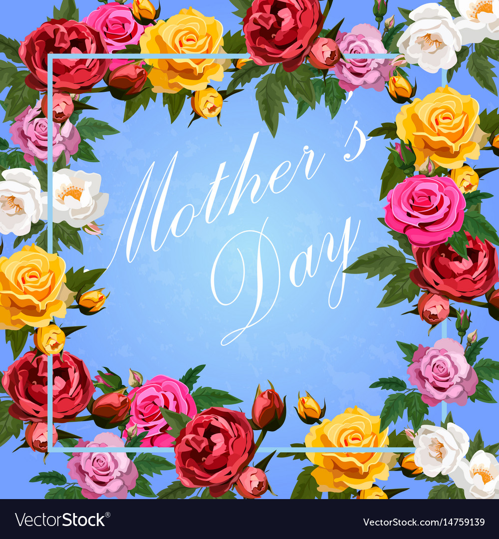 Happy mother s day vector image