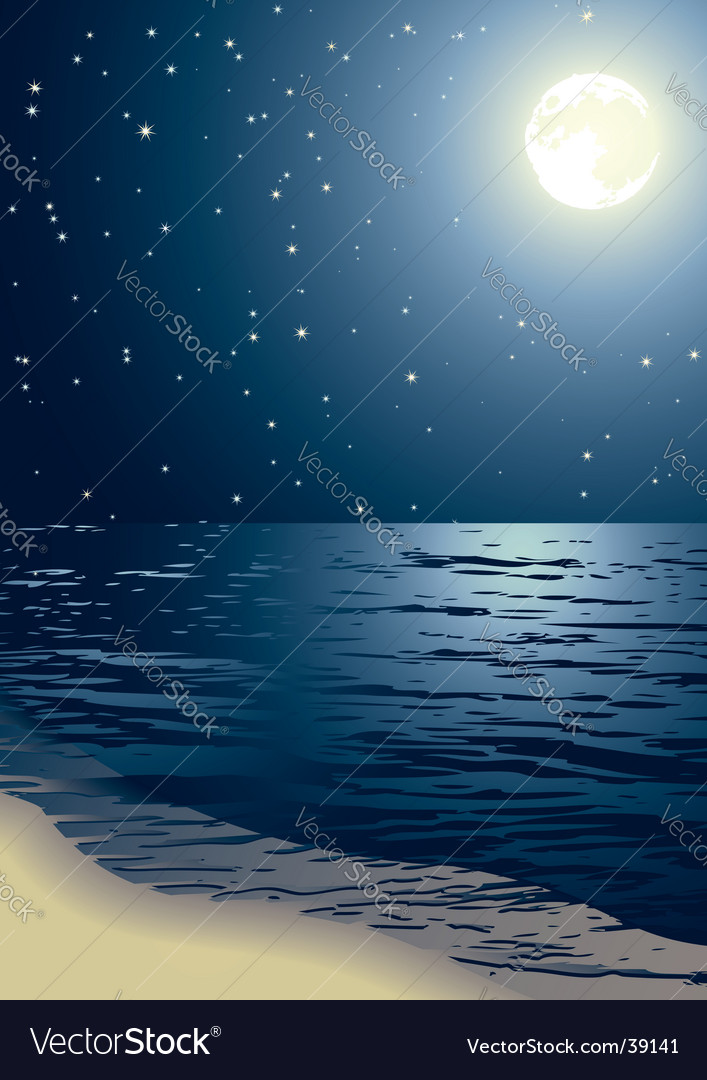 Sea vector image