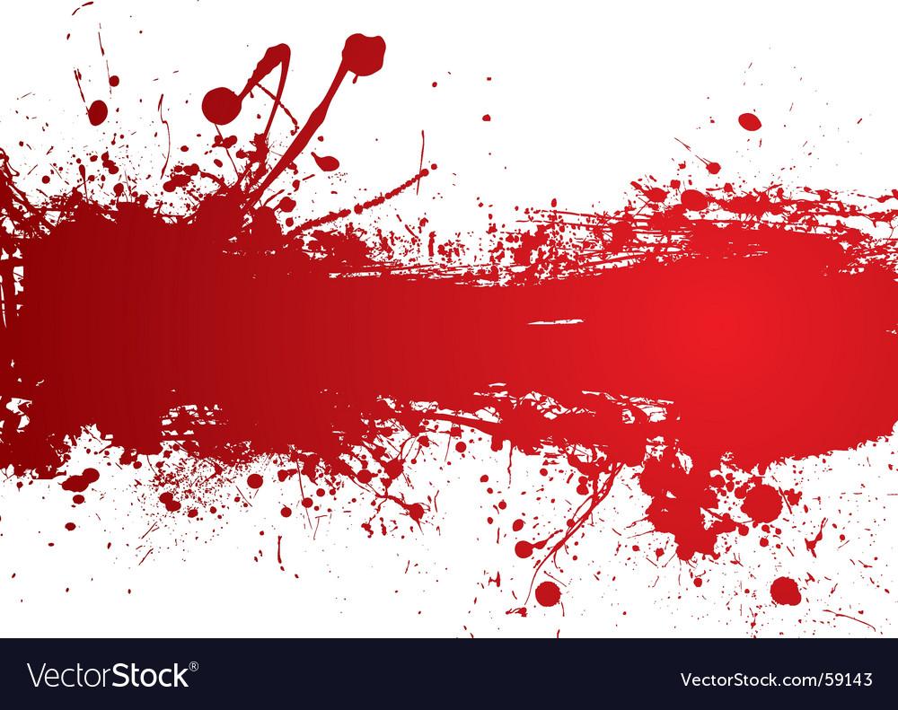 Blood strip vector image