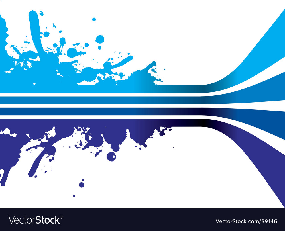 Blue strips vector image