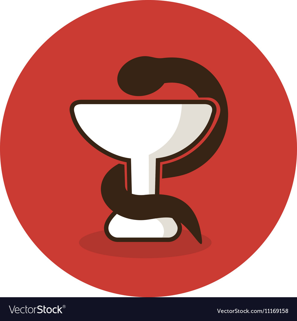 Medicine icon snake on cup medical royalty free vector medicine icon snake on cup medical vector image buycottarizona Gallery
