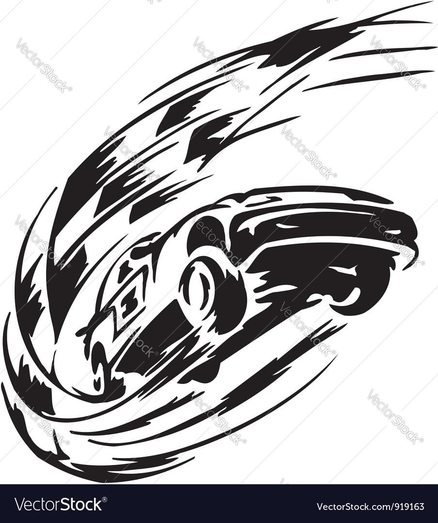 Race car - vector image
