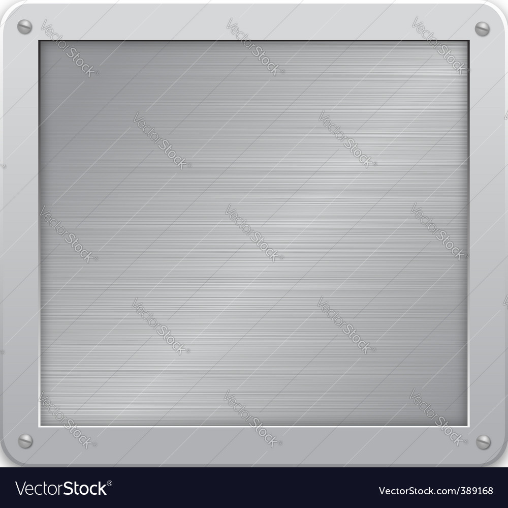 Metallic background Vector Image