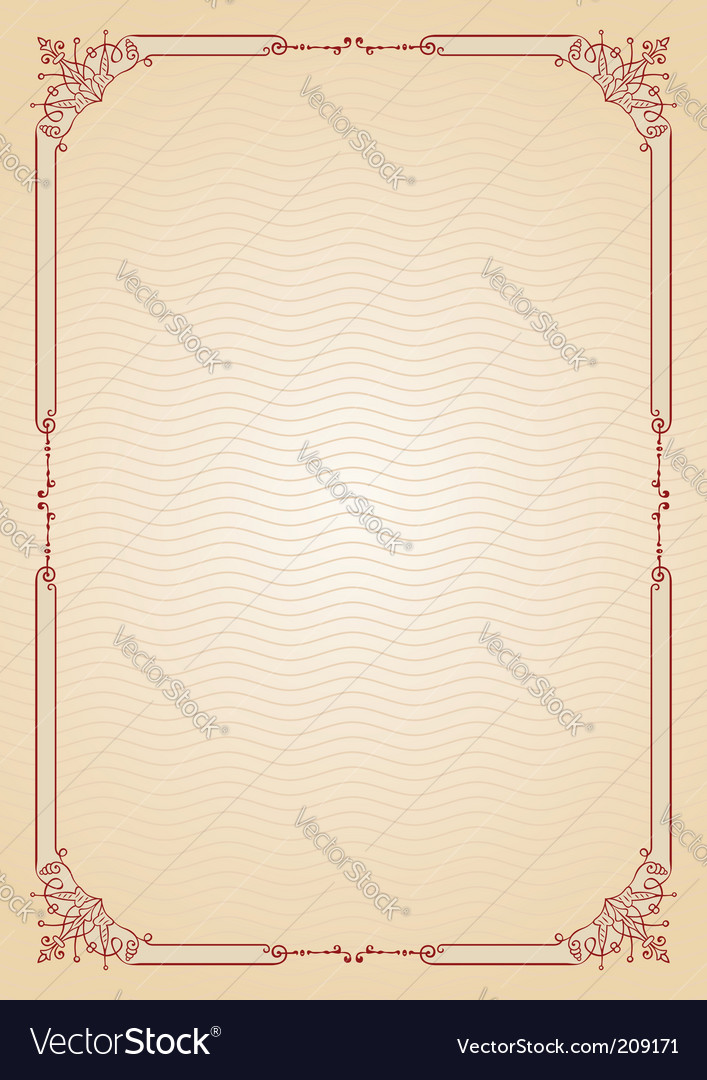 Document background vector image