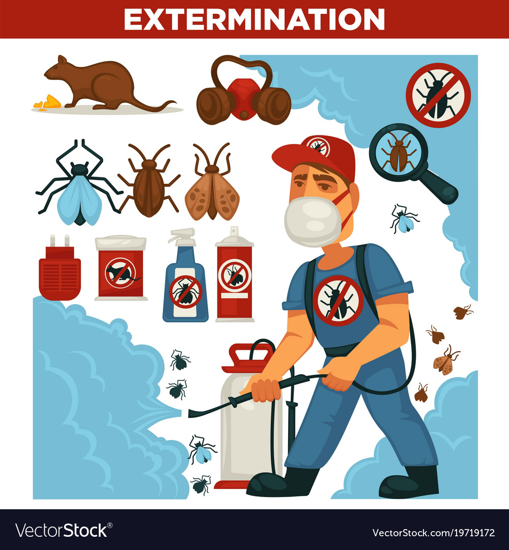 Vector E Sanitary Service : Extermination or pest control service and sanitary