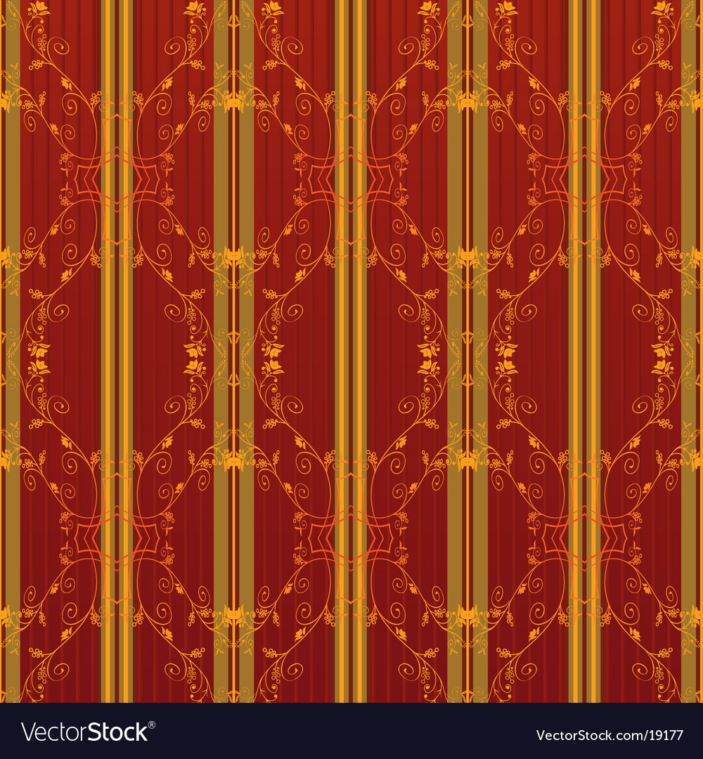 vintage wallpaper vector. Floral Vintage Wallpaper