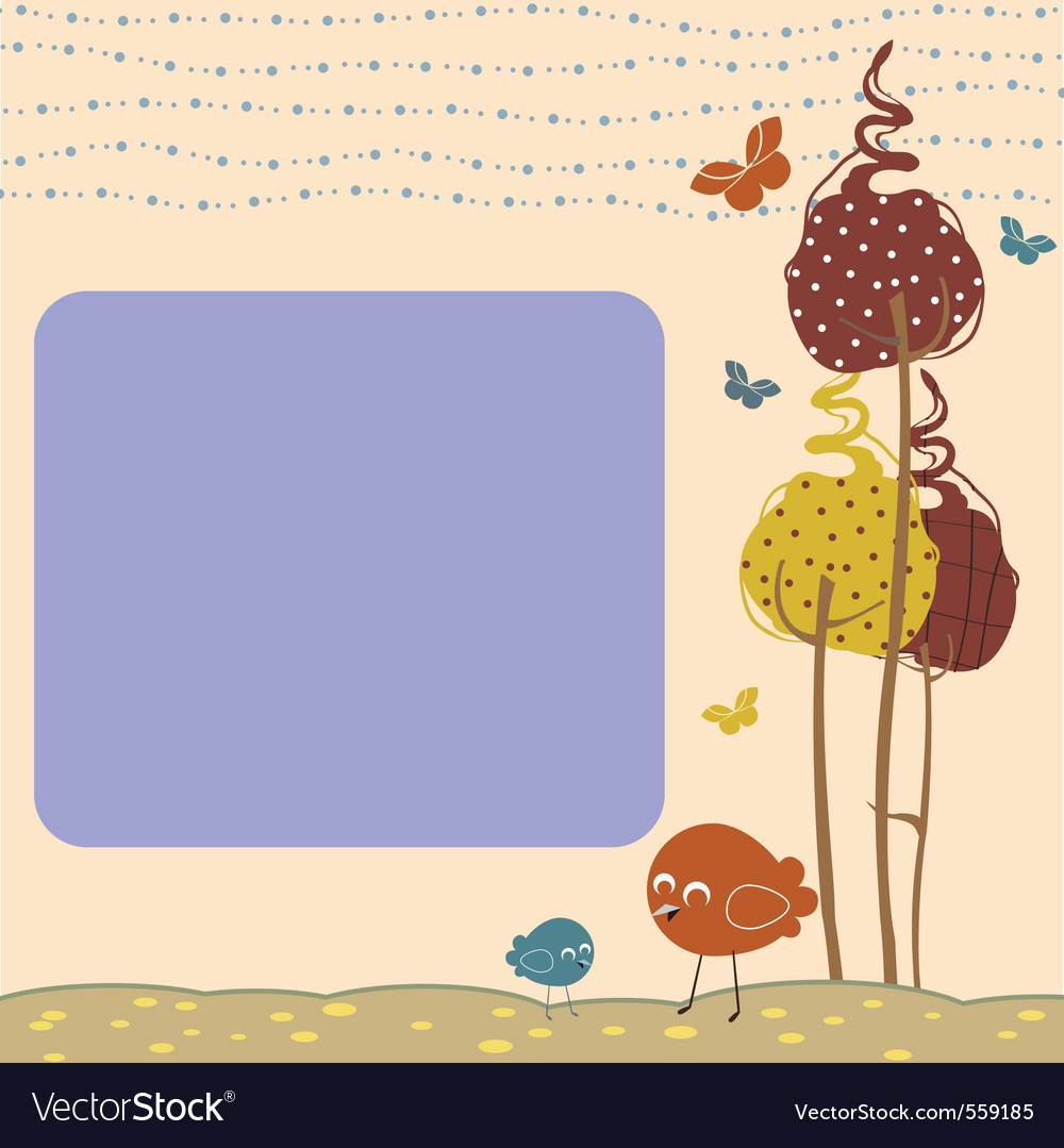 Design greeting cards vector image