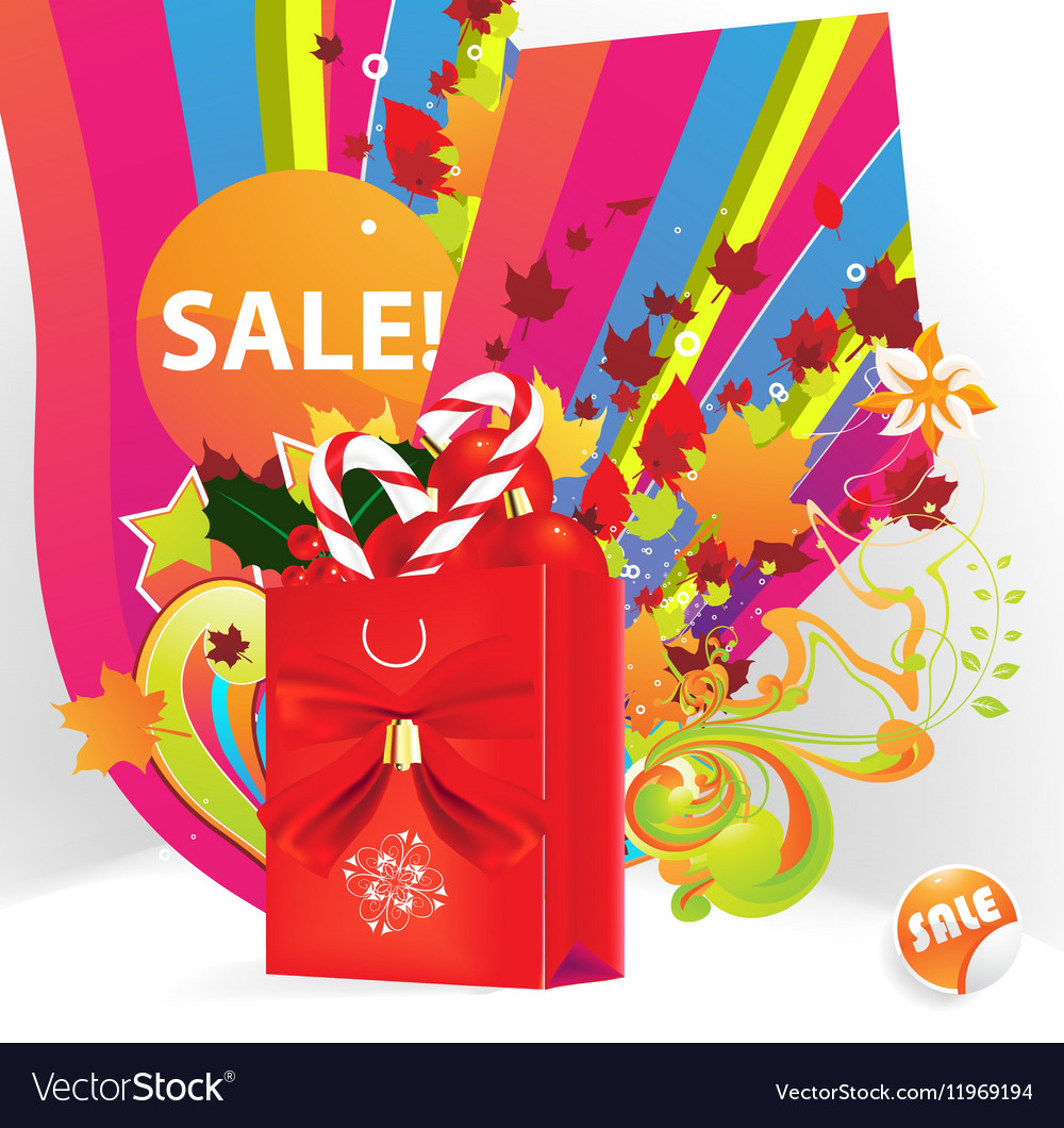 Sale Promotion for all Seasons vector image