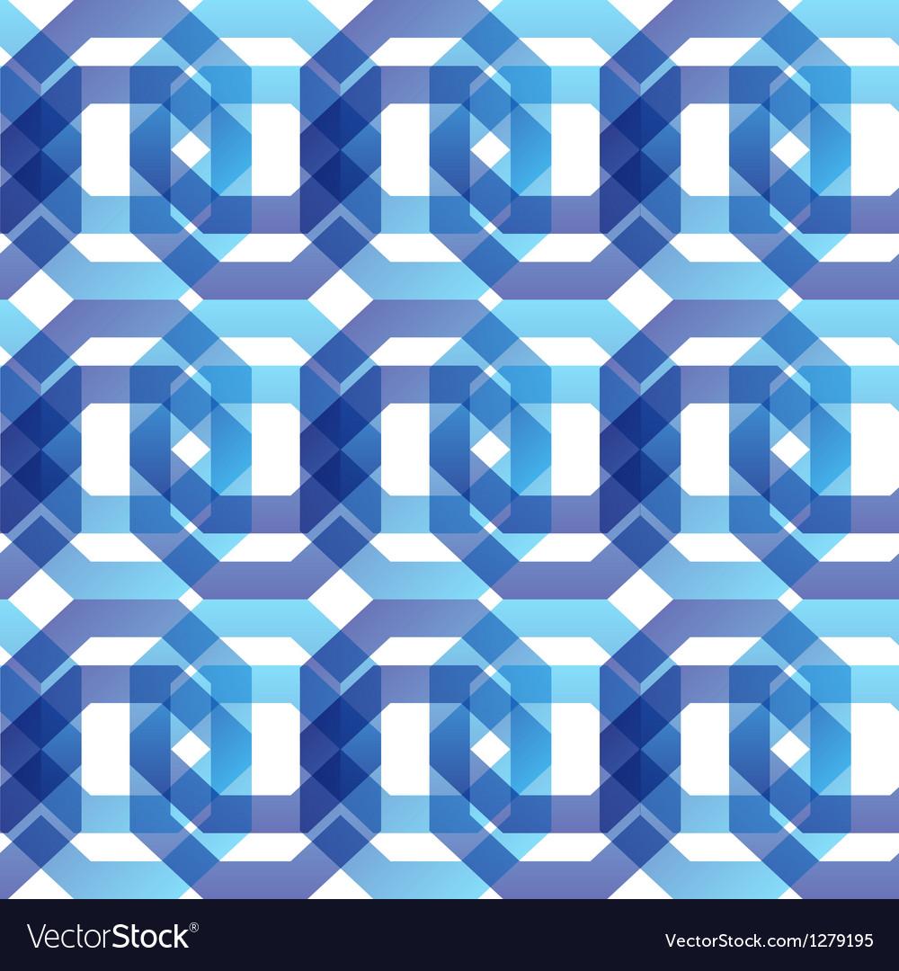 Geometric seamless vector image