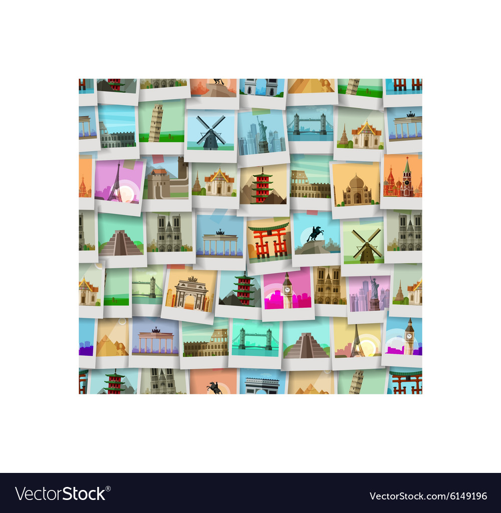 Travel logo design template trip or world vector image