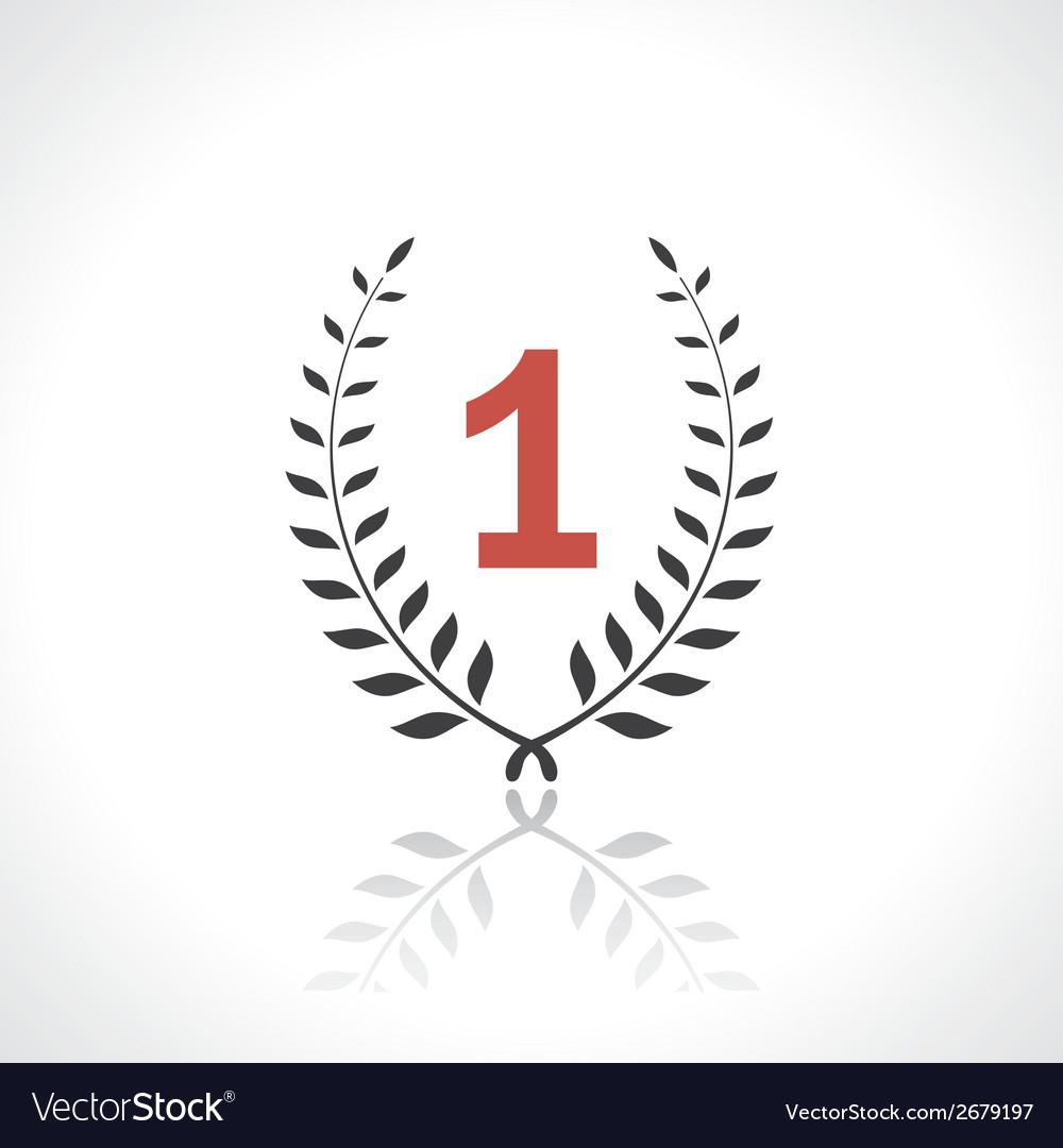 Winner icon vector image