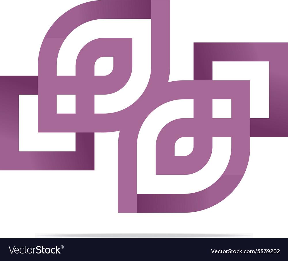 Logo Design Element Company Name Bussines Creative vector image