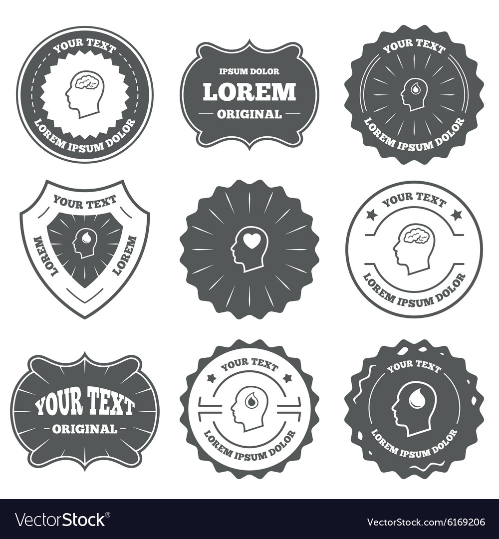 Head with brain icon male human symbols royalty free vector head with brain icon male human symbols vector image biocorpaavc Images
