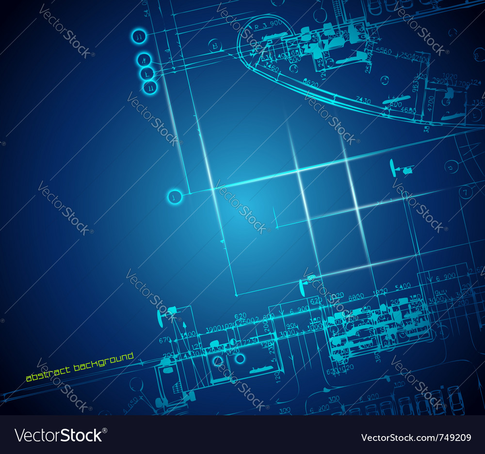 Architectural blueprint royalty free vector image architectural blueprint vector image malvernweather Images