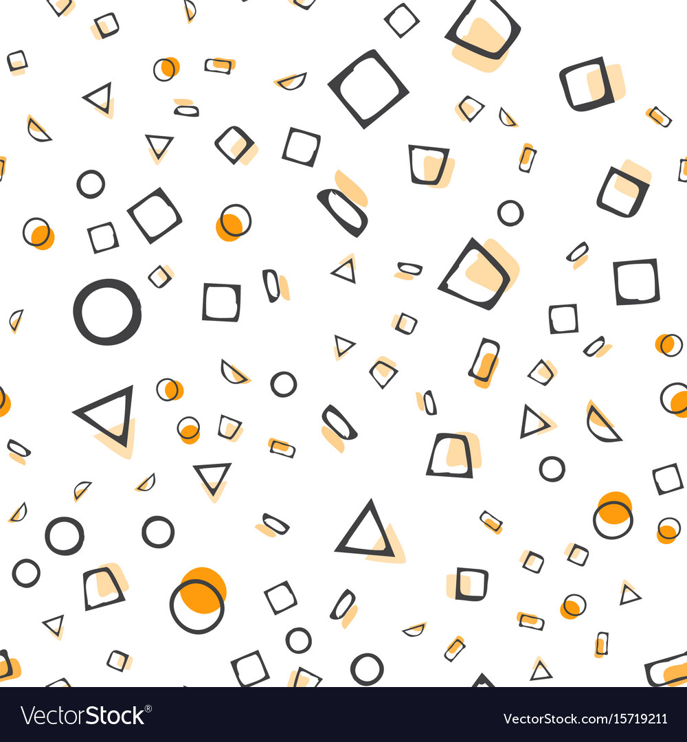 Abstract seamless pattern simple style vector image