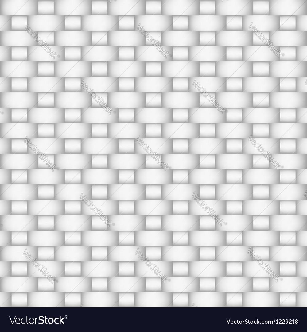 White Textile vector image
