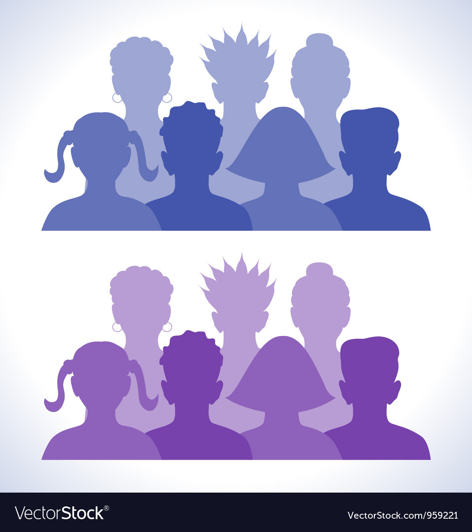 Web groups icon vector image