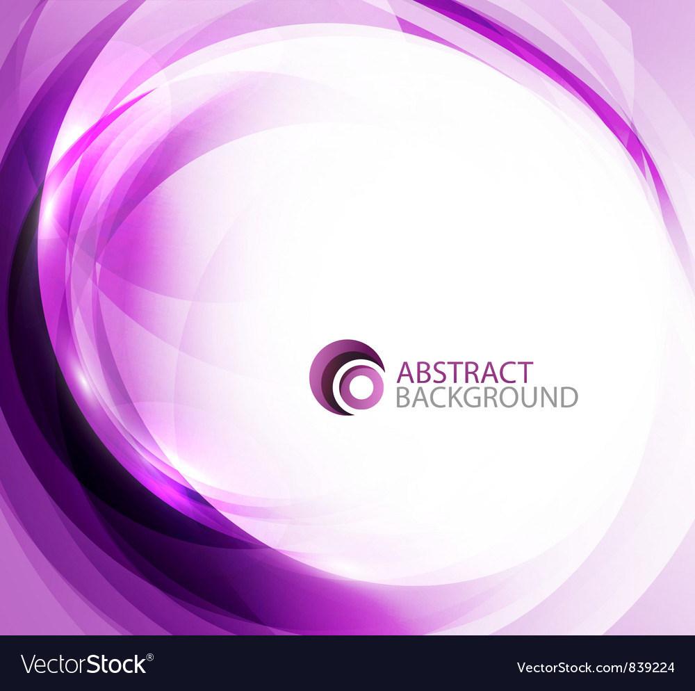 Violet energy background vector image