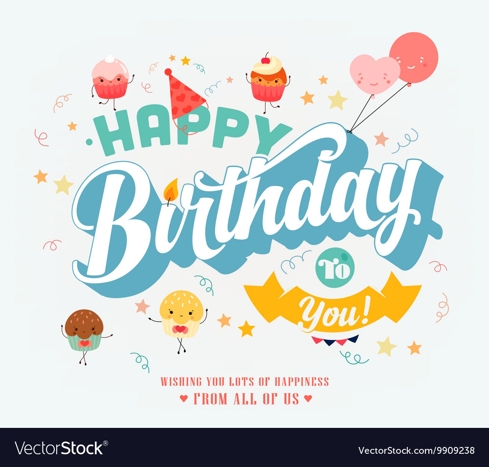 Free birthday banner images - Happy Birthday Banner Vector Image