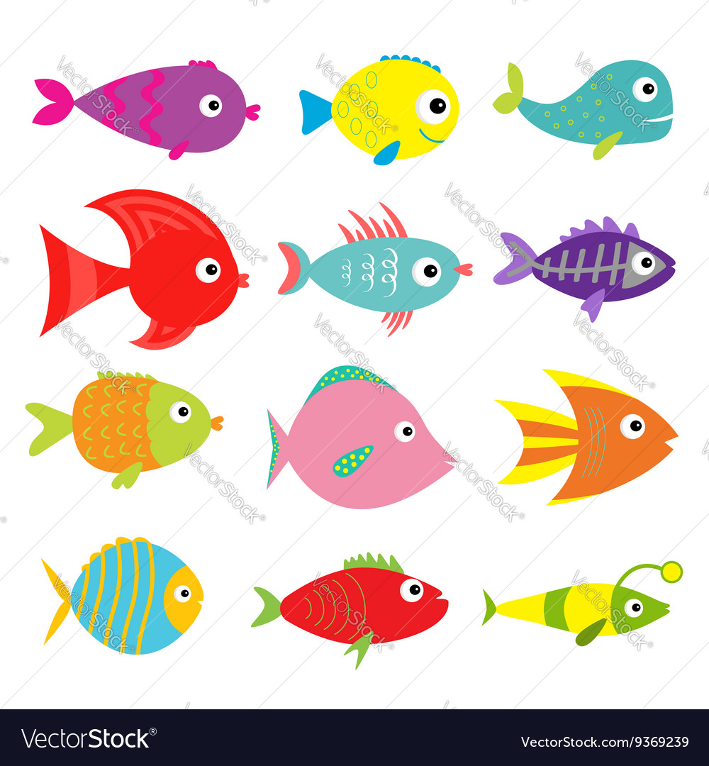 Cute cartoon fish images images for Fish for kids