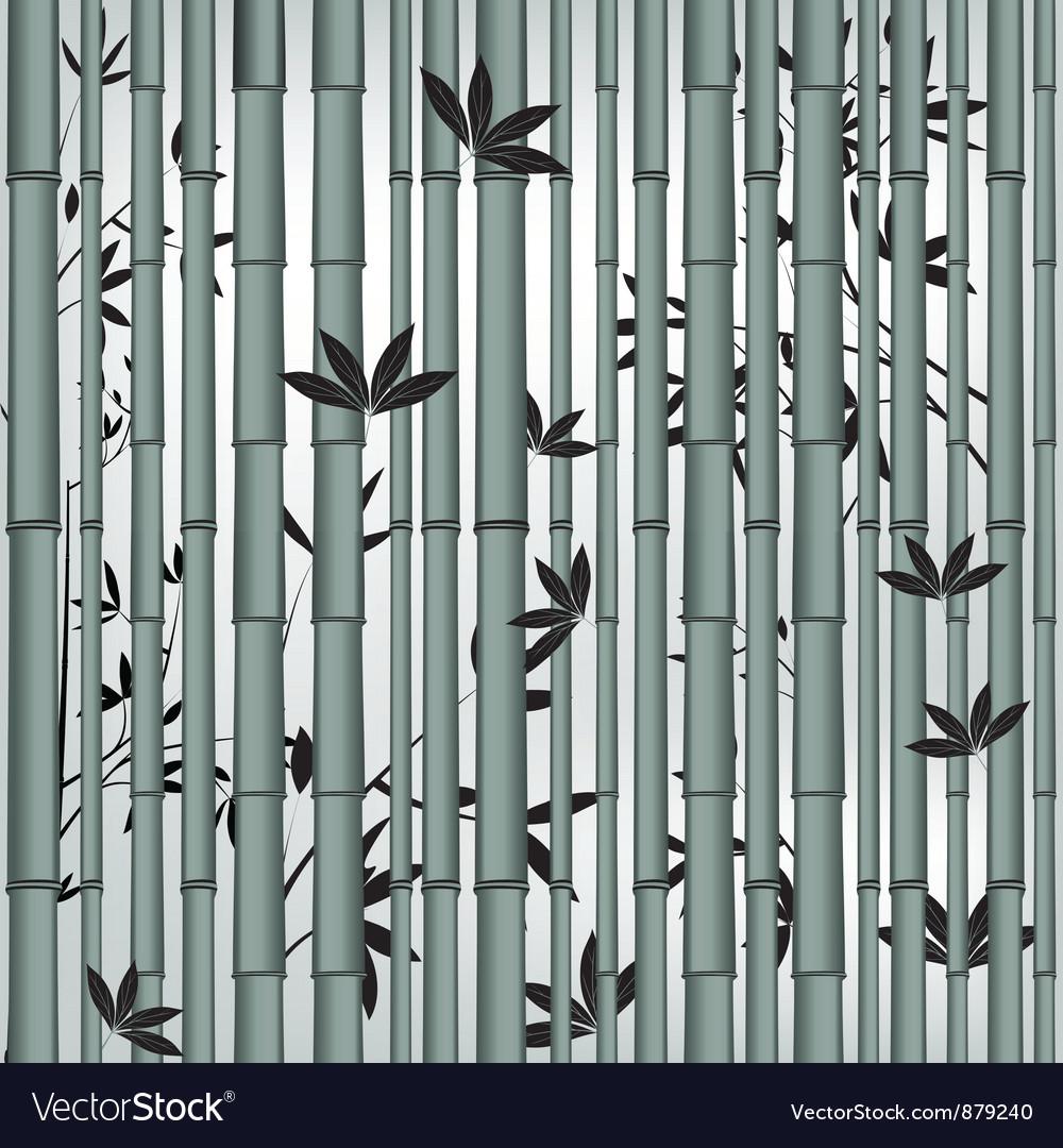 Bamboo seamless vector image