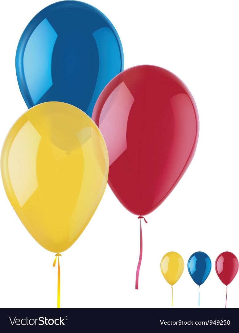 Ballons vector image