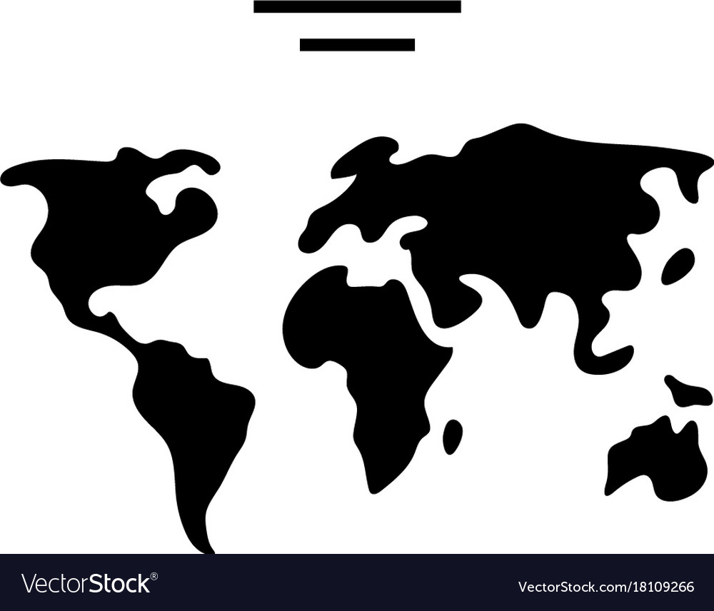 world diagram icon black hat network diagram icon