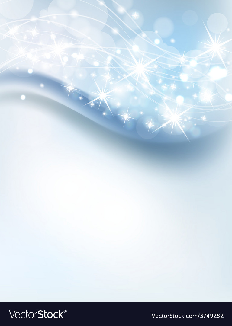 Abstract icy background vector image