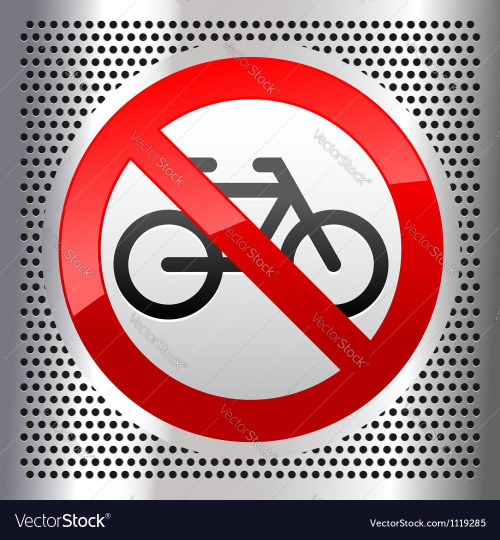 Symbols bike vector image