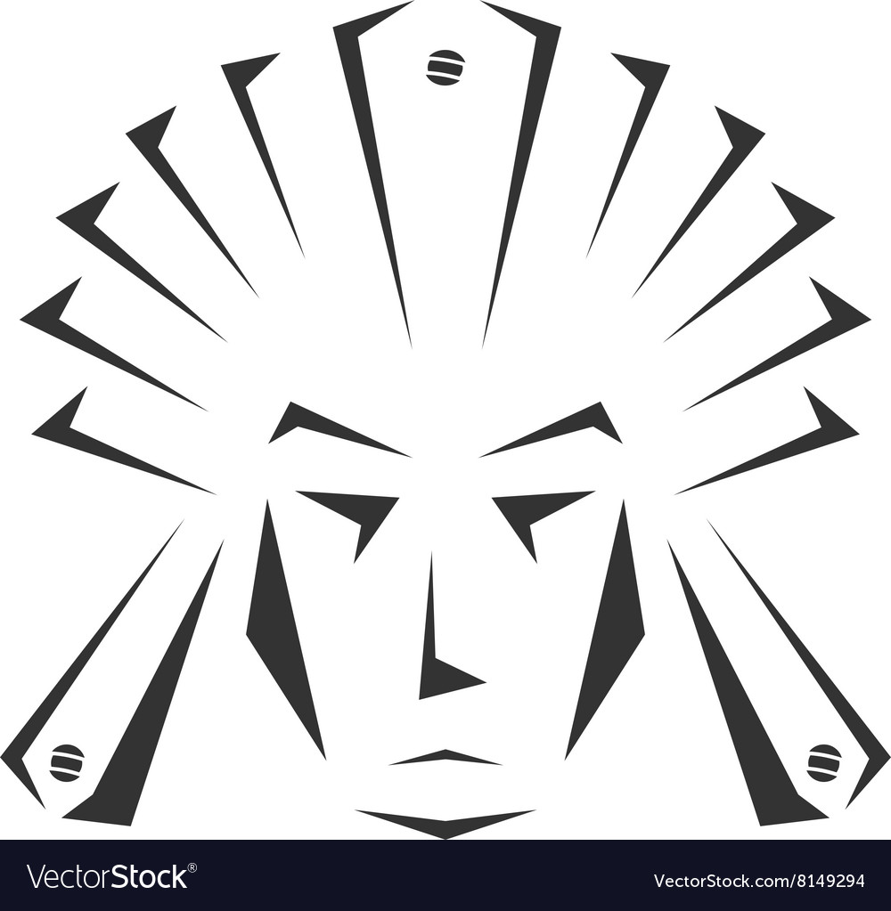 Indian-380x400 vector image