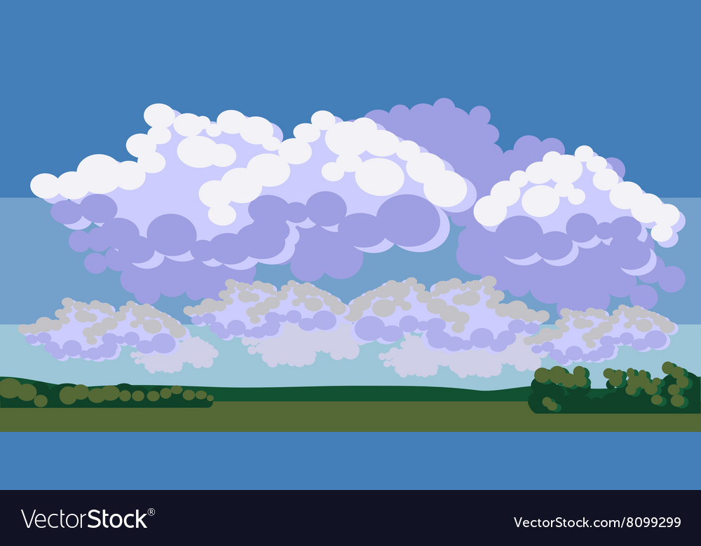 Field background 001 vector image