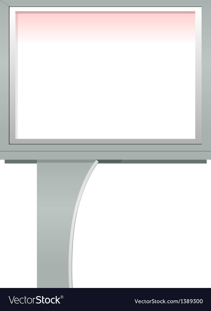 Icon board vector image