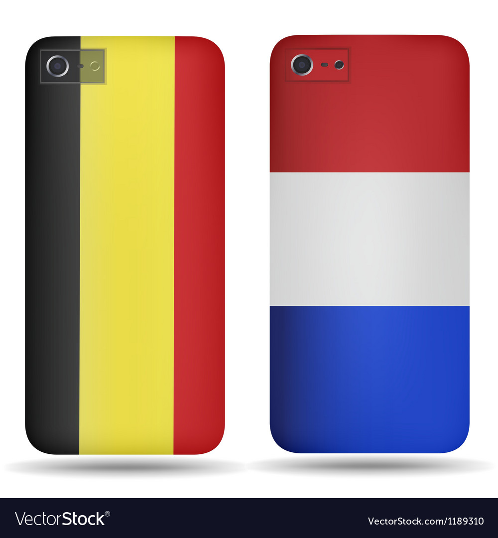 Rear covers smartphone vector image