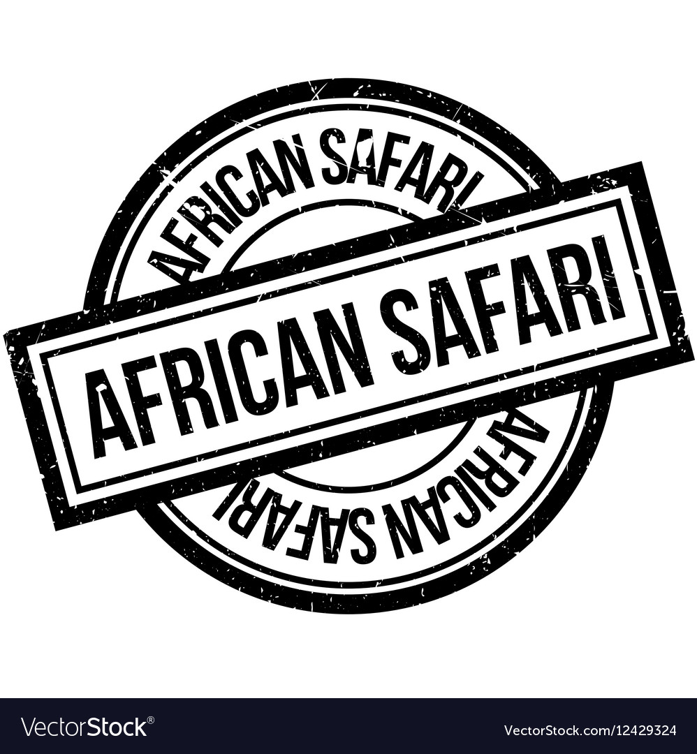 African safari rubber stamp royalty free vector image african safari rubber stamp vector image buycottarizona