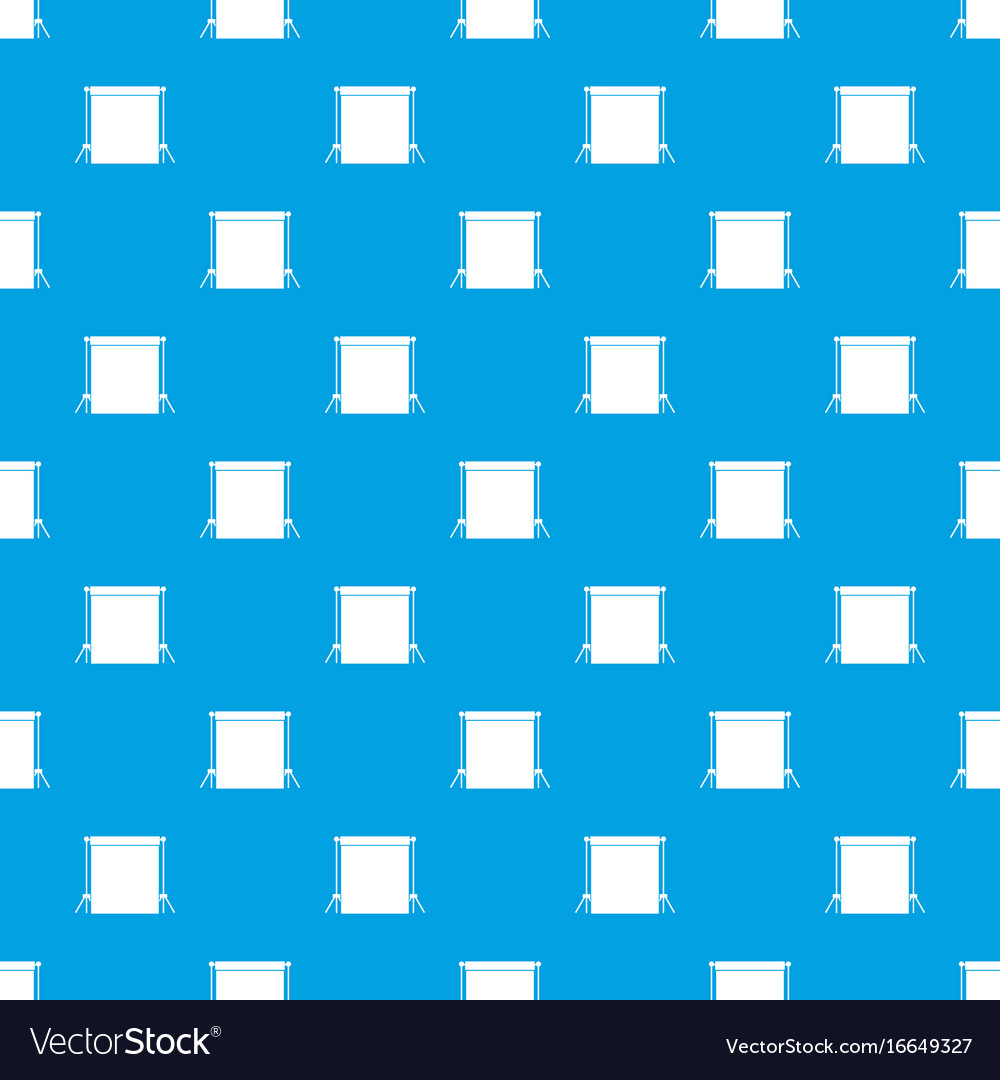 Studio backdrop pattern seamless blue vector image